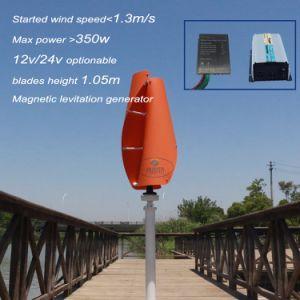 300W 12V 24V de Turbogenerator van de Wind van Vawt met het Controlemechanisme en de Omschakelaar van de Wind
