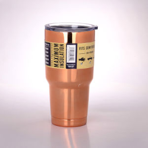 Nuovo dispositivo di raffreddamento del Rambler di Colster di stile chiavetta dell'acciaio inossidabile dell'isolante della birra dalle 30 once