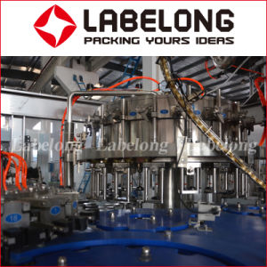 Lavagem e Enchimento Capping 3NO1 Máquina para Soda ou sumo