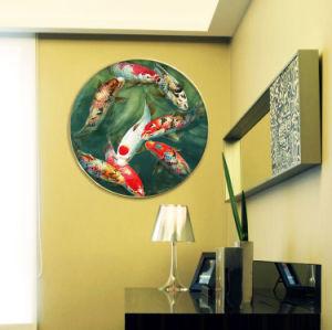 Maschera animale della pittura della tela di canapa dell'olio di arte della parete per la decorazione
