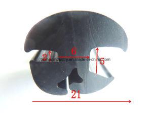 O EPDM/NBR/tira de borracha de silicone Borracha de vedação de juntas de vidro de porta em tamanho personalizado