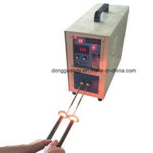 15kw販売のための高周波誘導電気加熱炉の溶ける炉システム