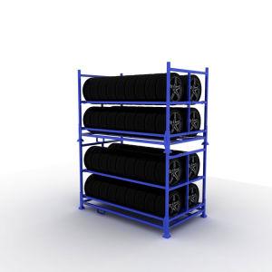 قوّيّة مستودع تخزين معدن قابل للتفكيك كومة [ركينغ]