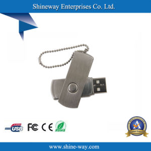 Meatal поворотный диск USB с логотипом OEM