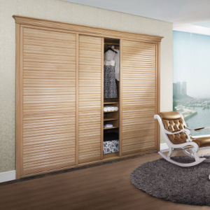 Oppein Melamina clássico mobiliário de quarto de madeira (cópia2010A-1#)