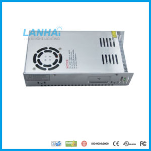 12V/24V 350W Fuente de alimentación de conmutación el controlador LED TIRA DE LEDS para cámara CCTV