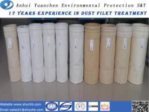 Bolsa de filtro de aramida para recolección de polvo