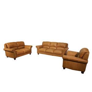 Lesso Home 3 Plazas sofás Chesterfield con reposabrazos