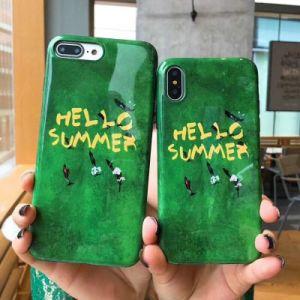 La conception de marbre populaires de haute qualité téléphone mobile iPhone 9 cas dans Accessoires de téléphone cellulaire