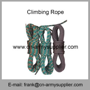Rope-Police Rope-Fire Rope-Security Rope-Army militar de la cuerda de salvamento