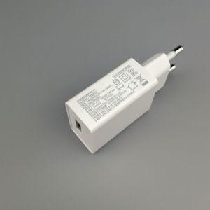 6W GS Cer Diplom-EU-Stecker-Energien-Adapter für Licht Telefon GPS-LED
