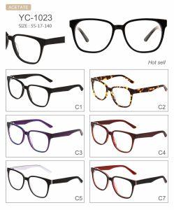 in Optische Frames van Eyewear van de Acetaat van het Ontwerp van de Manier van de Voorraad de Hete Verkopende Nieuwe