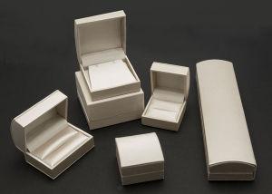 Contenitore di regalo di cuoio del pacchetto dei monili della casella di memoria dei monili dell'unità di elaborazione (Lr18)