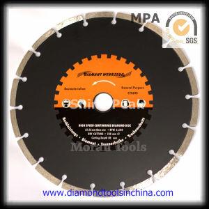 350mm Diamond Cutting Disc per Mutil Cutting Purpose