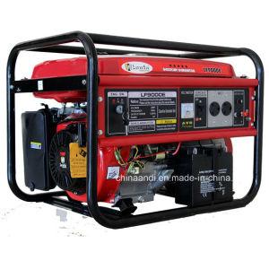 La alta eficiencia enfriado por aire 5kVA 5kw generador de gasolina de 13HP