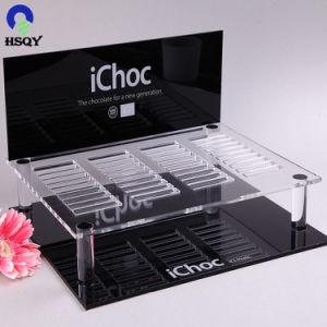 Scatola di presentazione di plastica acrilica cosmetica di caso di visualizzazione per vendita al dettaglio