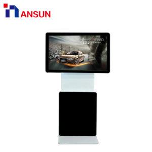 Все в одном из интерактивных без постоянного сенсорный экран для рекламы Тотем киоск