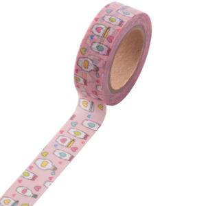 Afgedrukte de douane Gekleurd omfloerst het Document dat van de Sticker Band Washi maskeert