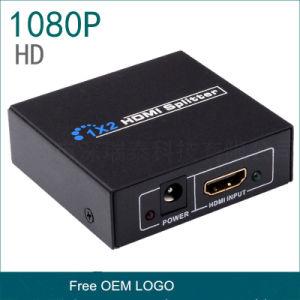 최고 4K 2K 해결책 3D 지원 HDMI 쪼개는 도구 1은 출력된 2개를 입력했다