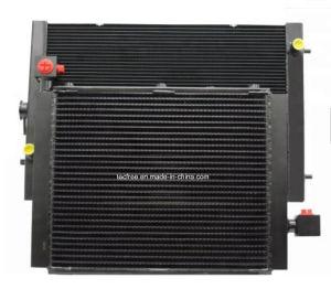 構築機械装置のアルミニウム棒版のラジエーターのクーラーの熱交換器