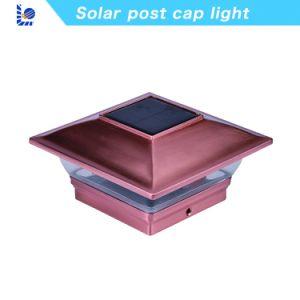 良質の庭のための太陽ポストの帽子ライト