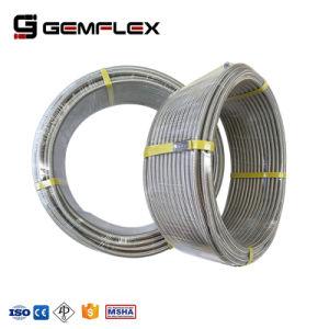 高温テフロンラインステンレス鋼の編みこみの油圧ホース