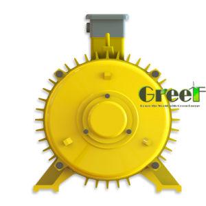 generatore magnetico permanente basso di 20kw RPM, alternatore a magnete permanente di CA di 3 fasi