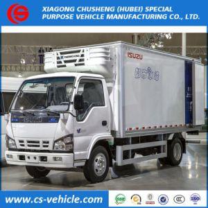 安い価格販売のためのIsuzuによって冷やされているアイスクリームのトラック5トンの