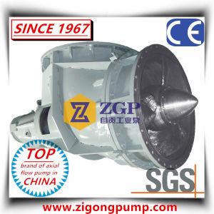 Pompa di elica chimica orizzontale & verticale del gomito di flusso assiale SS316