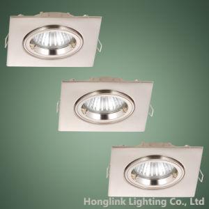 Torsion Lock Ring Adjustable Aluminum 3W 5W LED Spotlight Square LED Recessed Downlight