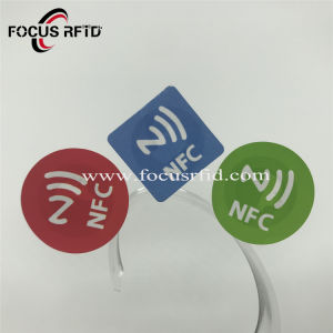 支払のための携帯電話NFC RFIDのステッカー