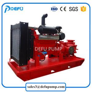La norme NFPA 20 énumérés à l'horizontale pour moteur Diesel Pompe à eau de lutte contre les incendies