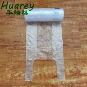 Effacer le PEHD Sacs en plastique sur le rouleau