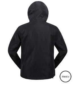 カスタムかカスタマイズされた冬のウインドブレイカーの昇華か昇華させた印刷または印刷された男の子または人のジャケット