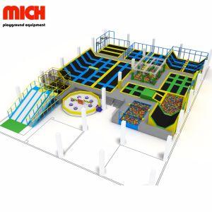Kommerzieller grosser Innentrampoline-Park für Kinder und Erwachsene