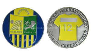 旧式な青銅色の銀製のめっき(017)の工場3D金属メダルスポーツの挑戦円形浮彫りの硬貨