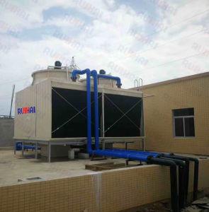 Exd Iib T4モーターを搭載する300ton 415V 50Hzの直交流長方形CTIによって証明されるFRPの産業冷却塔