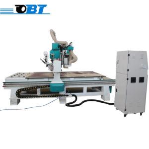 Chapa de madera CNC Router de corte Herramientas de la máquina para la madera en la India