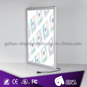 큰 크기 벽 A1 알루미늄 스냅 LED Backlit 프레임