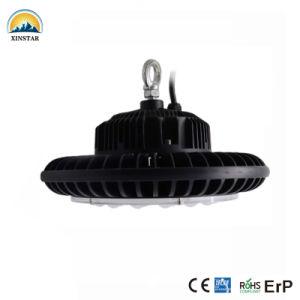 3000K branco frio Round OVNI impermeável IP65 Luz High Bay LED 200W para lâmpada de mineração industrial de armazém