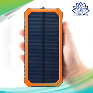 Portableユニバーサル6000mAh 8000mAh 10000mAh PowerバンクLED Emergency Lights Solar Charger Kit