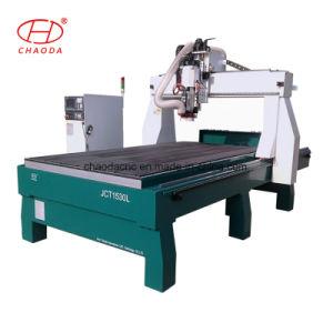4軸線5の軸線の泡3Dの彫刻CNCの彫版のルーター機械