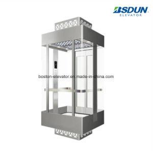8 최고 가격에 있는 판매를 위한 사람 630kg 스테인리스 미러 홈 별장 병원 전송자 엘리베이터 상승