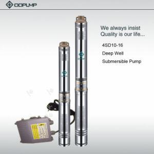 Pompe submersible en acier inoxydable de la pompe de puits profond en plusieurs stades de la pompe de nettoyage