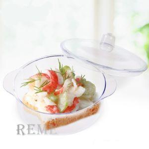 Novo Produto produtos descartáveis de plástico louça Dinnerware Jantar Taça de Ajuste