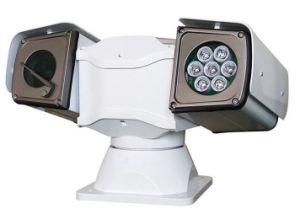 A los golpes de coche móvil montado IR PTZ HD cámara IP