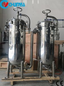 Gesundheitliches Duplexbeutelfilter-Gehäuse für Chemikalien-und Öl-Filtration