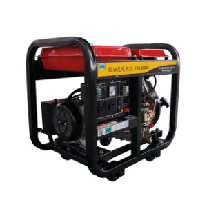 diesel elettrico portatile del generatore raffreddato aria 7kVA