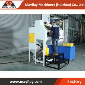 中国の製造業者の熱い販売の軽い銃及びノズルとの鋳物場の機械装置の錆取り外しのための標準小型サンドブラスティングキット