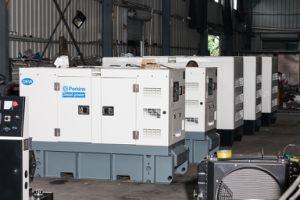 48kw Wasserkühlung-Dieselgenerator mit schwanzlosem Drehstromgenerator